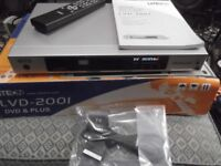 LITEON LVD-2001 multi-region 1080i upscaling PAL/NTSC DVD player with memory card reader