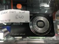 Sony Cyber shot 14mp digital camera