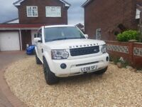 2008 land rover discovery 3 white disco 4 upgrades range 4x4 SUV May take PX but won't swap