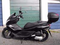Honda PCX 125CC 2010 Scooter for sale. 8 months MOT, service history, 25,205 miles, £800