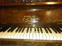Lovely walnut upright piano