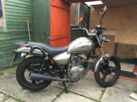 Zontes 125cc Tiger 2016 (great first bike)