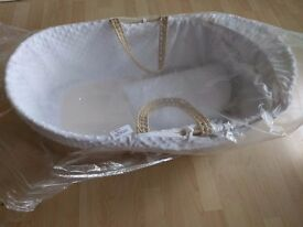 Unused lovely moses basket