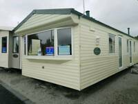 Amazing extra wide static caravan For Sale Ayrshire West Coast Scotland
