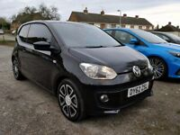 VW High Up - Black with Black Leather Heated Seats. FSH, New MOT, New Clutch. 2 new tyres