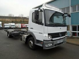 2009 MERCEDES ATEGO 12-24 22FT CHASSIS CAB