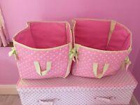 Polka dot Storage baskets from Next