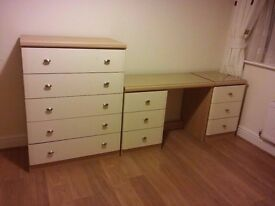 Chest of 5 Drawers collection only please in Amersham, South Buckinghamshire HP6