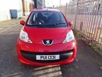 Jan 2006 Peugeot 107 Urban 37000 Miles