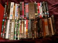 45 dvds Inc box sets first £20 offer and they are yours