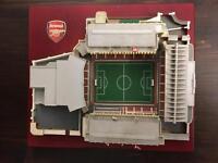 Arsenal stadium model miniature collectable