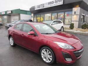 2010 Mazda Mazda3 GT (2.5 L, 6 speed, Sunroof, Leather, Heated s