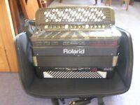 Fr-7b Roland electronic accordion