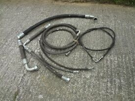 Hydraulic Hoses, Suit Hedgecutter or Digger