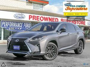 2017 Lexus RX 350 F-Sport>>>AWD, red leather<<<