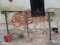 blacksmiths made step hand rail