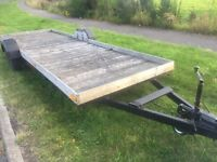 Flatbed trailer 16foot bed.