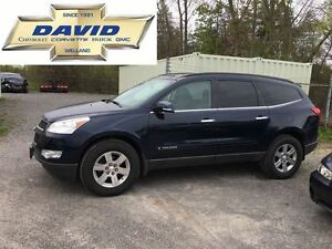 2009 Chevrolet Traverse 1LT FWD SDR LOADED LOCAL TRADE!!!