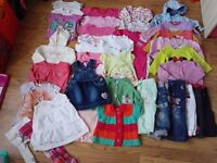 Girls clothes 9-12 months, bundle