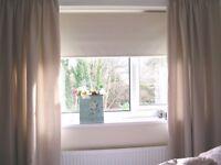 dunelm mill blackout roller blind - Cream colour (neutral colour) Good condition