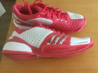 Addidas Barricade ladies tennis shoes