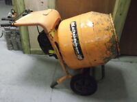 BELLE MINIMIX 150 CEMENT MIXER 240V NO STAND GOOD CONDITION