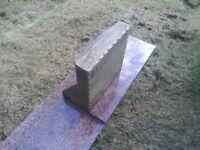 Sandstone memorial, & granite plinth.