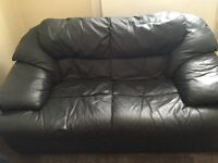 leather sofa good condition
