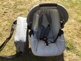 Hauck Pushchair, Car Seat and Child Carrier