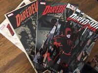 Daredevil comics. Trades 1-4