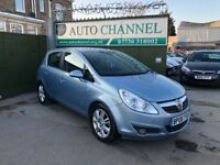 Vauxhall Corsa 1.4 i 16v Design 5dr (a/c)£3,390 p/x welcome 1 YEAR FREE WARRANTY , NEW MOT