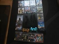 Sony PS3 with 16 games and 3x official Sony controllers