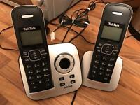 Telephone with answer machine