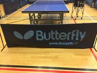 Table Tennis surround/barriers