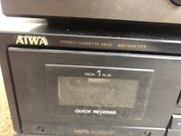 Aiwa Stereo cassette deck AD-WX777