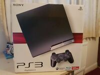 Very Good Condition Playstation 3 with 2 Controllers and 5 Games for SALE NOWWW