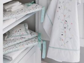 Bambizi Antheia Organic Baby COT Bedding Set - BRAND NEW AND BOXED