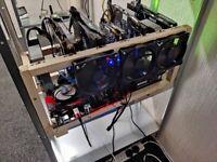 Crypto mining rigs