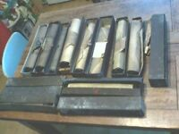pianola rolls shabby chic upcycle joblot some great tunes.