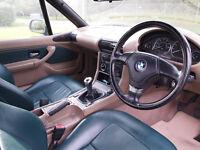 BMW Z3 Roadster 1.9L 2dr Full Year MOT Low Milage
