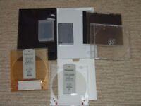 DVD, CD & Mini DV Cases - Various