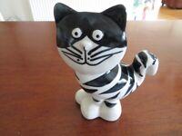 Handmade pottery Cat moneybox