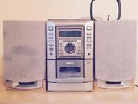 SANYO AUX/CD/TAPE/RADIO