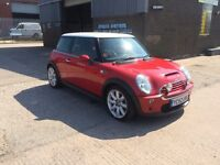 2002 52 MINI COOPER 1.6 ,ONLY 73000 MILES,COOPER S BODY KIT,BONNET,BUMPERS,LOOKS AND DRIVES GREAT,