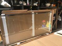 Brand new glass shower screen