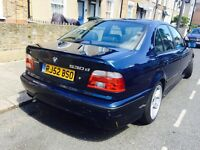 BMW 530d auto individual blue msport 1400£ not Audi vw 525d 535d