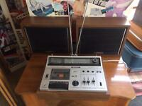 Sony CF-620 Radion Cassette Recorder Speakers Full Working Order
