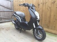 Peugeot ludix 50cc scooter moped 5k miles 12 months mot