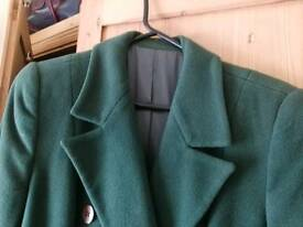 Lovely ladies lined wool and cashmere winter coat 10/12