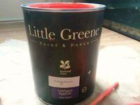 Little Greene Designer Paint - Orange Aurora - 1 Litre